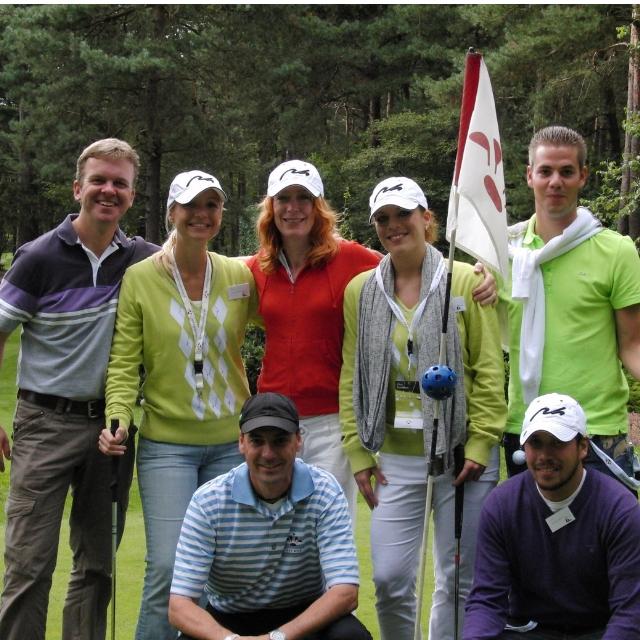 Business Training op Golfbaan